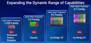 Intel chips family