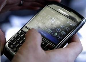 BlackBerry teclado táctil
