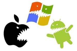 Sistemas operativos móviles batalla
