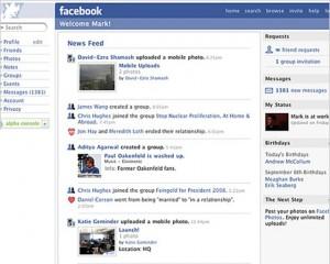 Versión de Facebook del 2006
