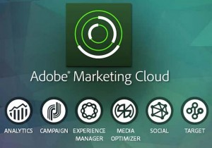 Adobe Marketing Cloud screenshot