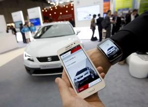 SEAT-Ibiza-Samsung-automovil