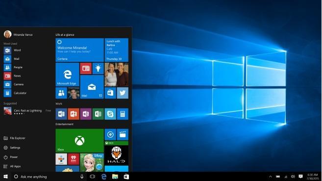 windows 10-inicio
