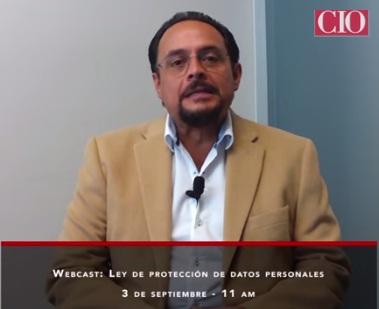 webcast Ley de Protección de Datos Personales