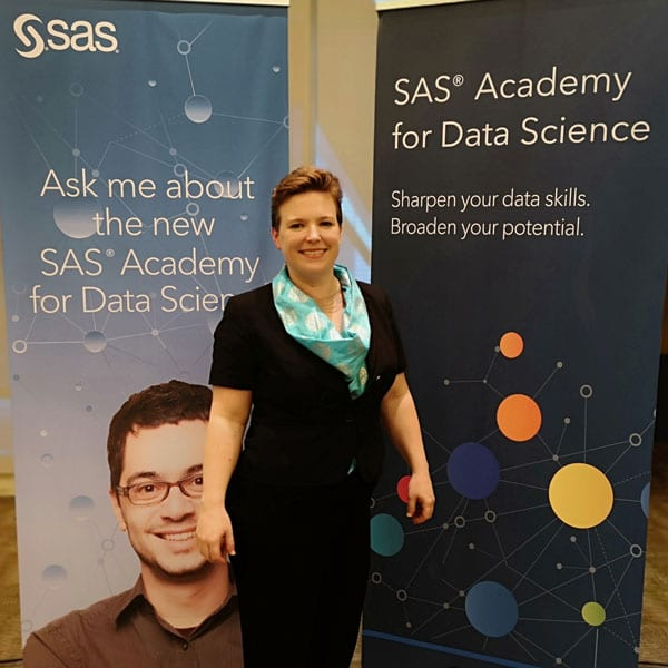 Catherine Truxillo, Directora de SAS Advanced Analytics Education.