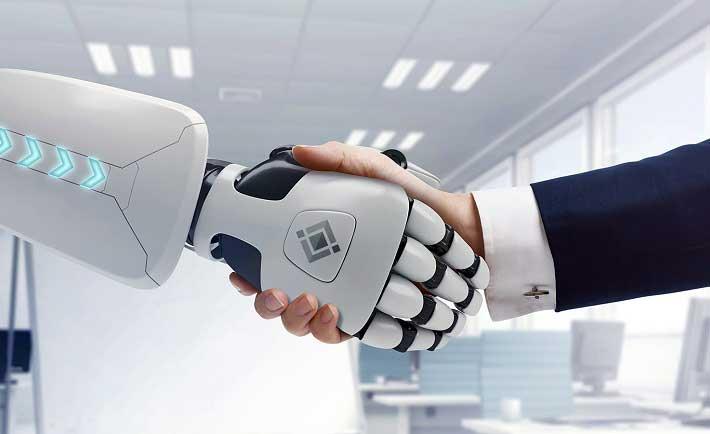 Los robots ayudan a eliminar el estrés, según estudio de Oracle y Workplace Intelligence.