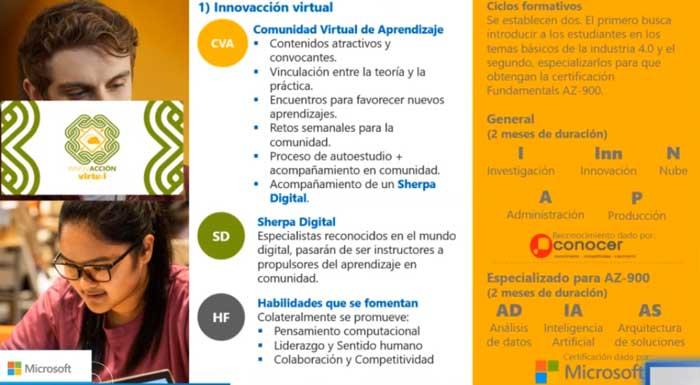 Inovacción Virtual, uno de los primeros programas de Innovar por México