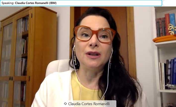 Claudia Cortes Romanelli presentó la plataforma SkillsBuild