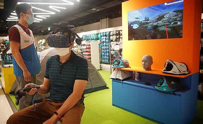 Decathlon ya está implementando realidad virtual