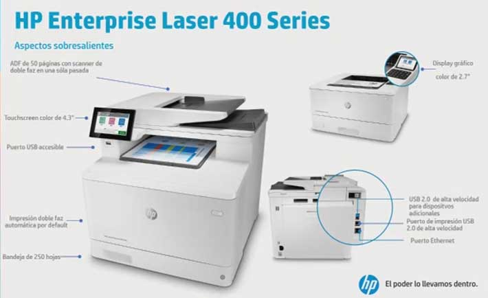 HP LaserJet Serie 400