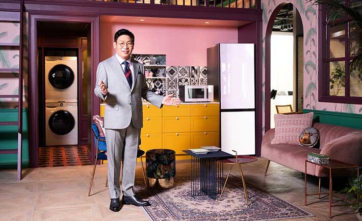 JaeSeung Lee presenta la nueva línea Bespoke Home.
