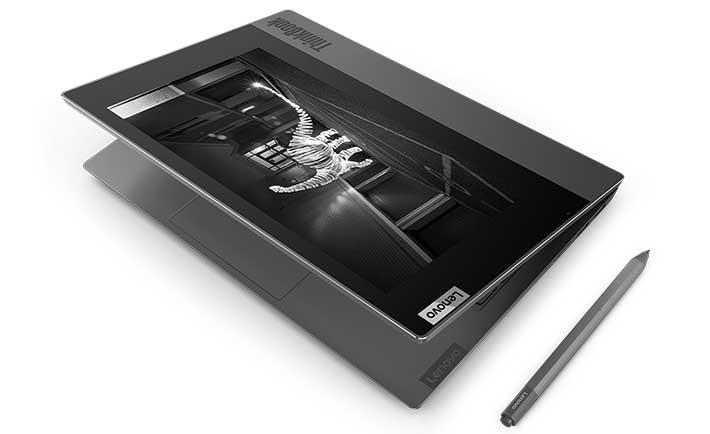Lenovo lanza ThinkBook Plus, una laptop con doble pantalla