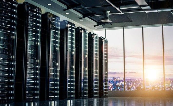 sala de telecomunicaciones